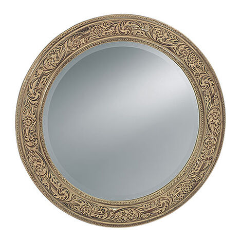Ornately Framed Mirror ,  , large