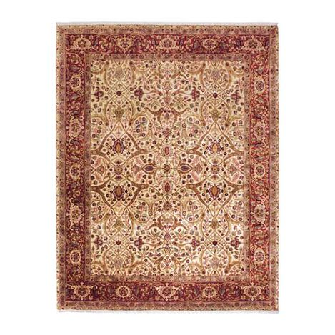 Isfahan Rug, Ivory/Red ,  , large