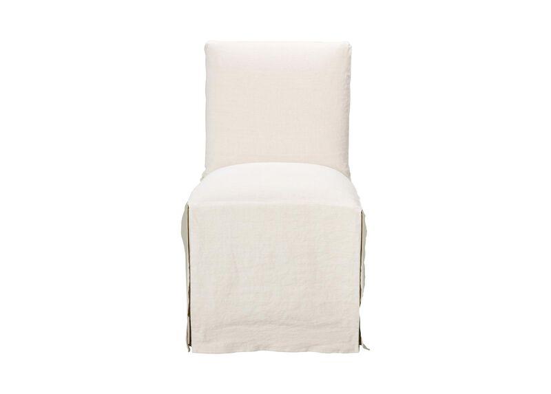 Sebago Slipcovered Dining Chair ,  , large_gray