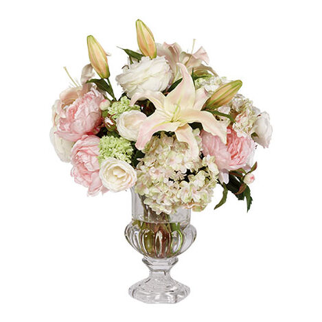 Spring Bouquet in Glass Urn ,  , large