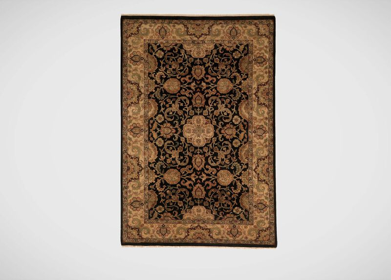 Sultanabad Rug, Black/Gold ,  , large_gray