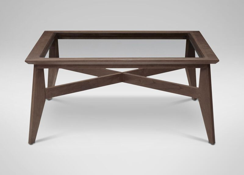 Trevor Glass-Top Coffee Table, Earl Gray ,  , large_gray