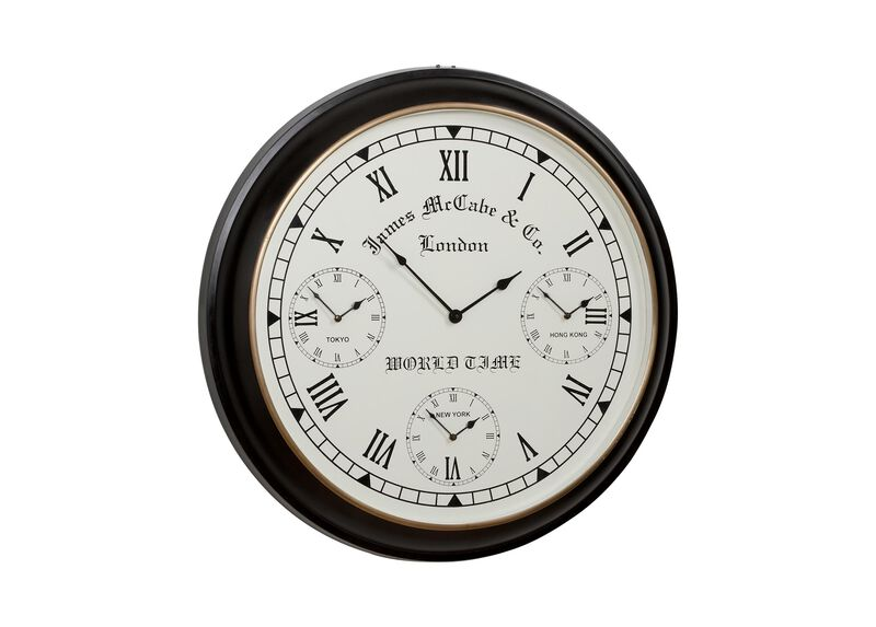 World Timer Wall Clock ,  , large_gray