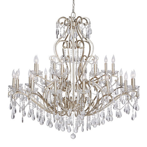Whitney Champagne Grand Chandelier ,  , large