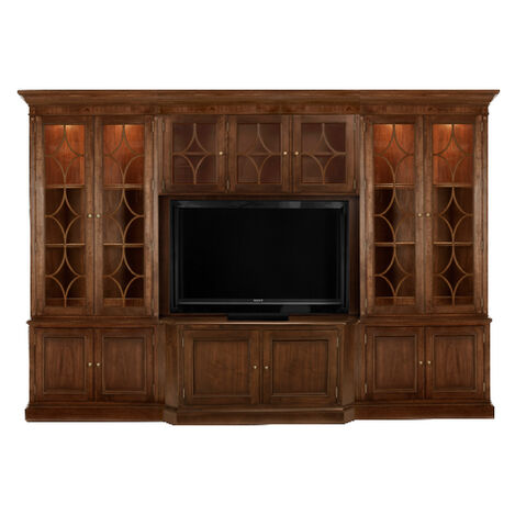 Weston Media Center , , large Quick Shop. Weston Media Center. LIVING ROOM  | Media Cabinets - Shop Media Consoles Living Room Entertainment Cabinets Ethan Allen
