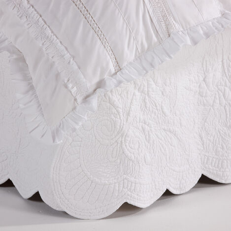 Dominique Twin Bedskirt ,  , large