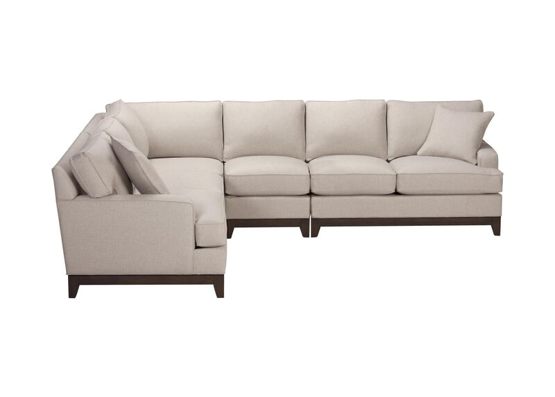 Arcata Four Piece Sectional, Quick Ship ,  , large_gray