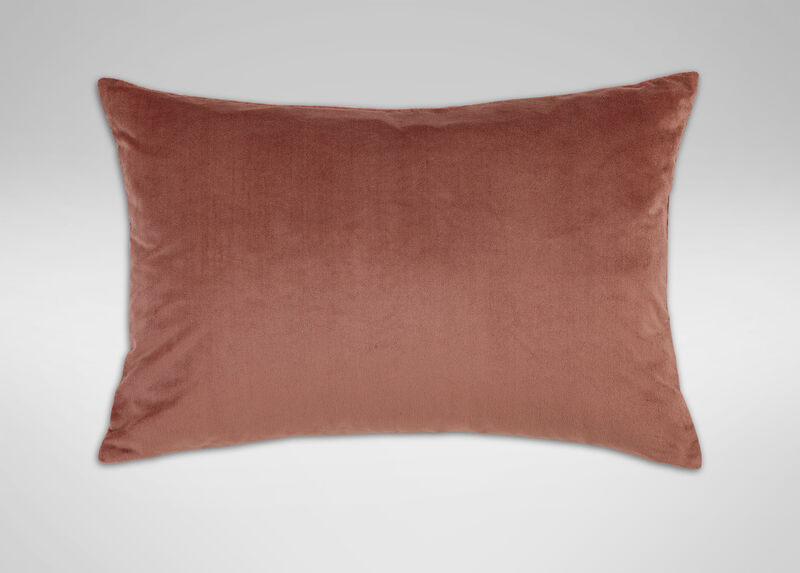 Quartz Velvet Sham, Dusty Rose ,  , large_gray