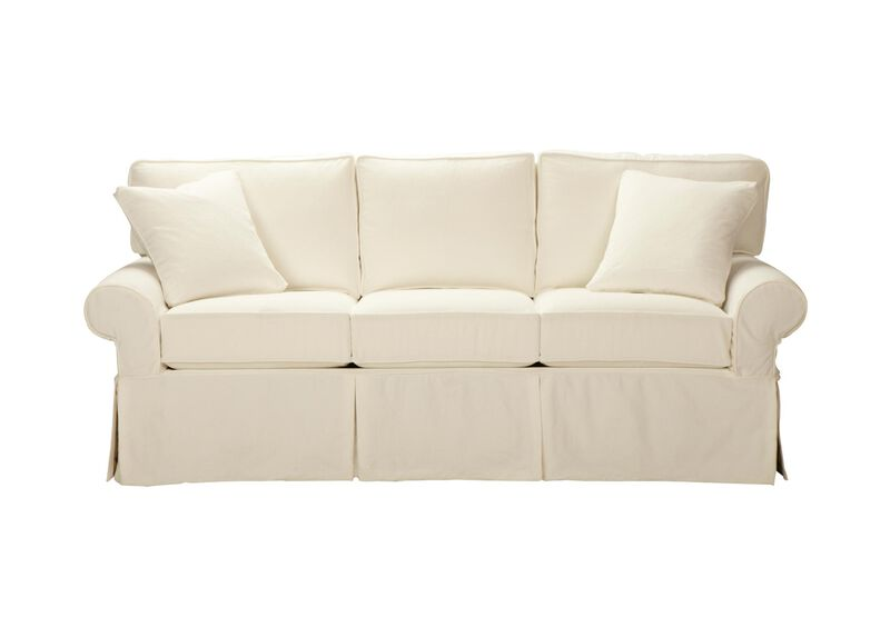 Bennett Slipcovered Sofa ,  , large_gray