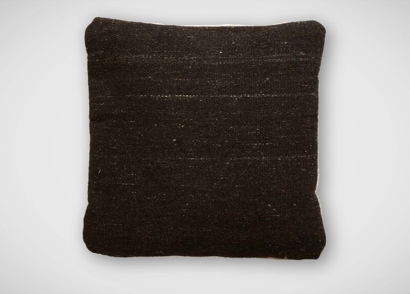 Charcoal Wool Pillow ,  , large_gray