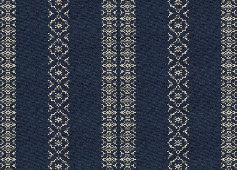 Tamara Indigo Fabric by the Yard ,  , large_gray