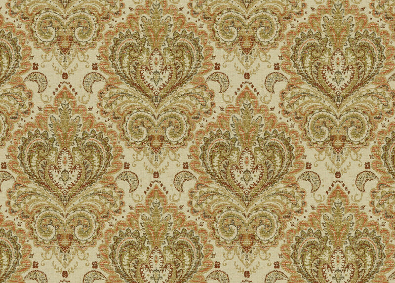 Arya Cinnabar Fabric by the Yard ,  , large_gray