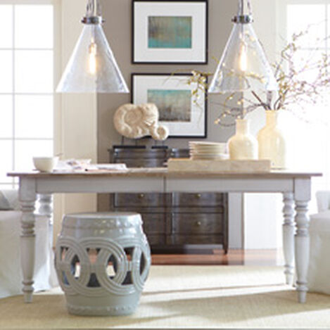 modern country dining room | ethan allen