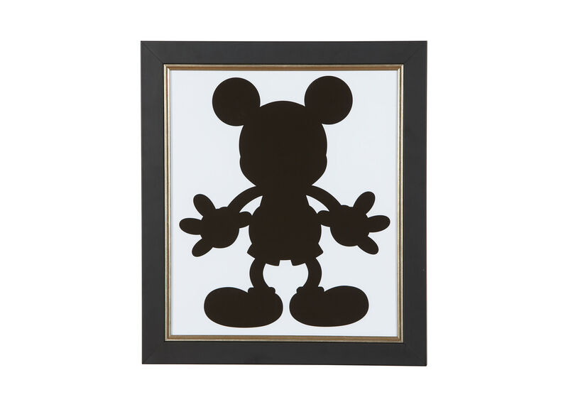 Mickey Mouse Silhouette IV ,  , large_gray