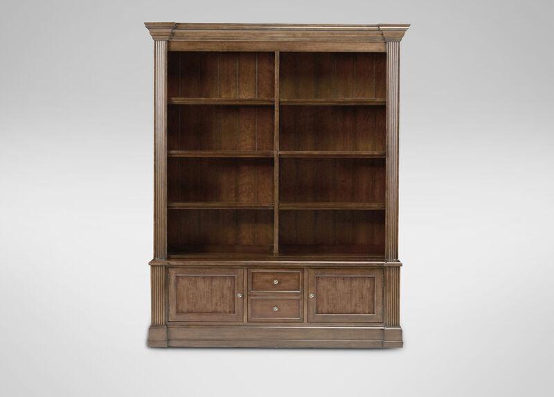 Traveller 2-piece Modular Bookcase ,  , large_gray