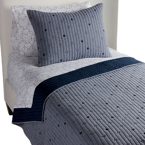 How Cool Quilt and Sham, Midnight Blue ,  , large