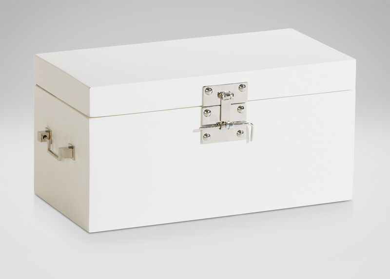 White Large Canton Box ,  , large_gray