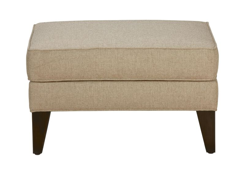 Emerson Ottoman, Quick Ship , Palmer Oyster (Q3033), chenille , large_gray
