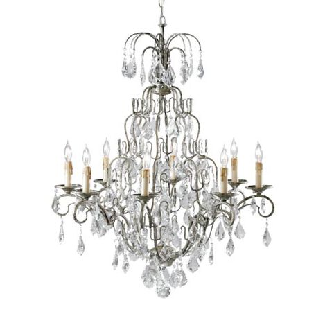 Eight Light Olympia Chandelier ,  , large