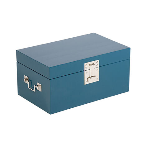 Turquoise Large Canton Box ,  , large