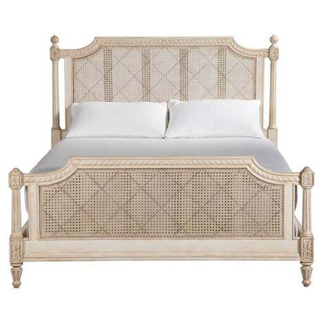 Elise Bed, Vintage Linen ,  , large