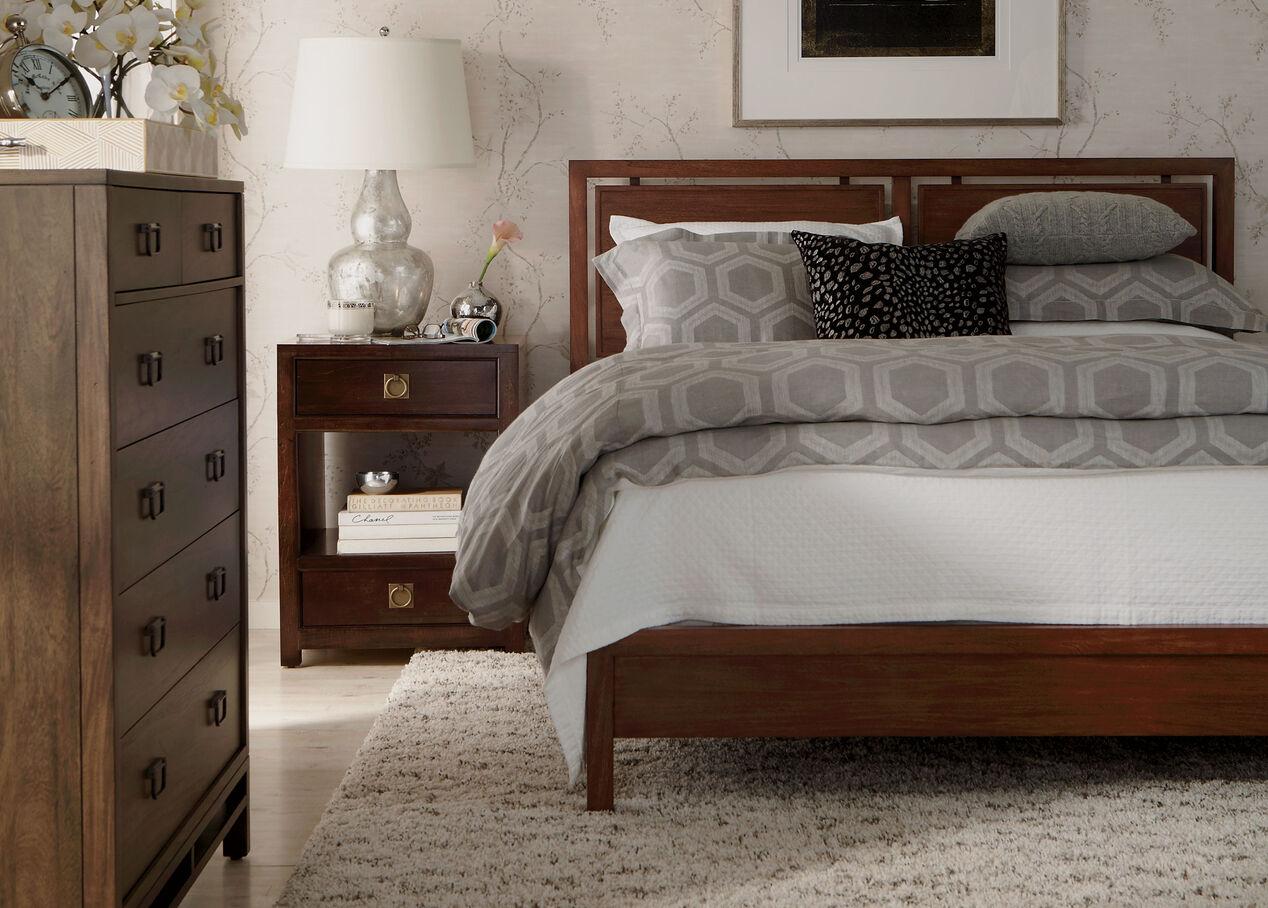Ethan allen platform bed - Taran Bed Alt