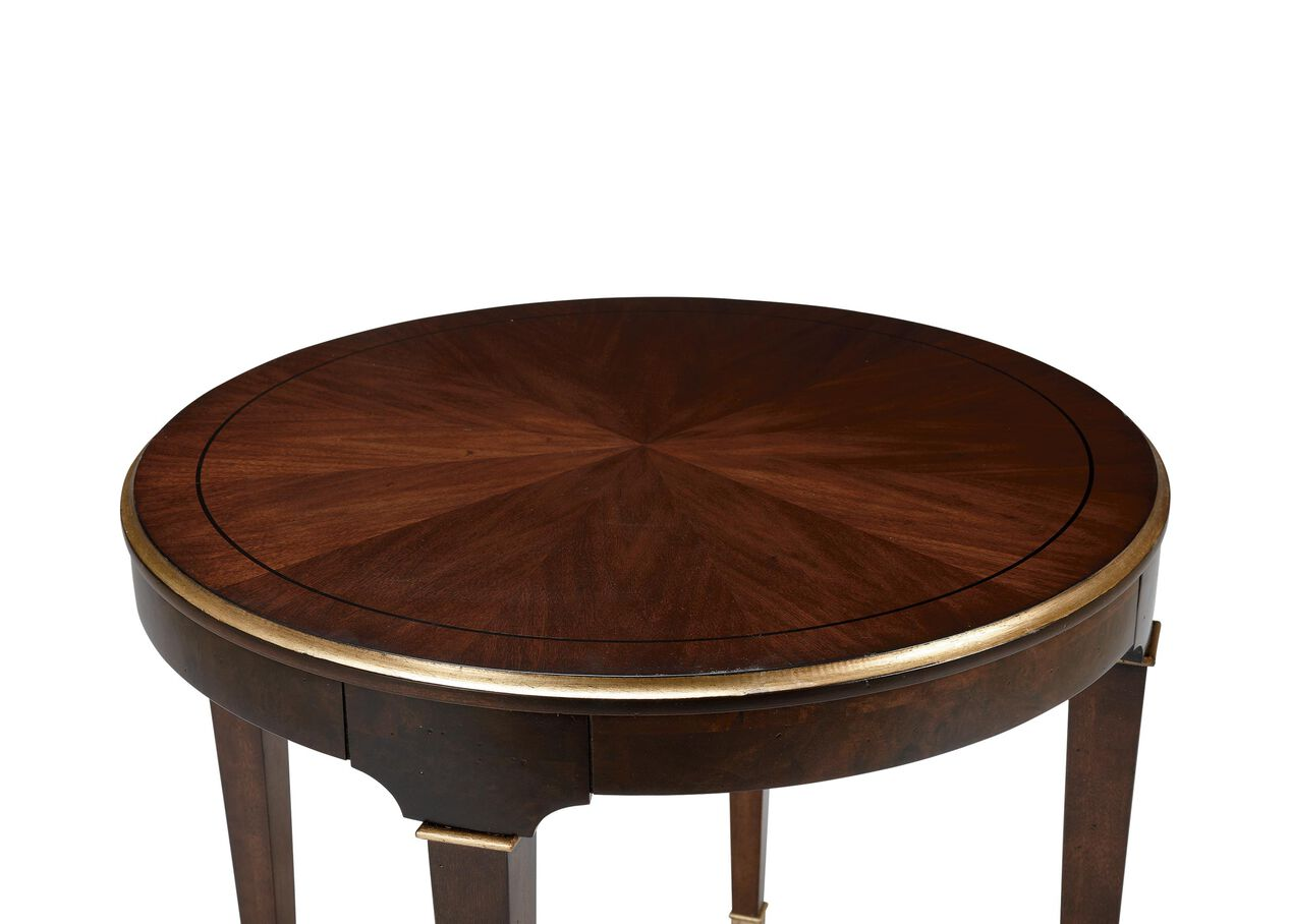 Elmont Round End Table Side Tables