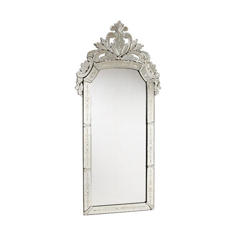 Venetian Crown Floor Mirror ,  , large