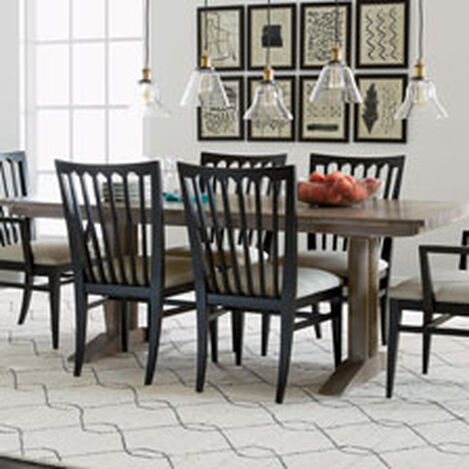sayer dining table large quick shop - Dining Room Furniture Chairs