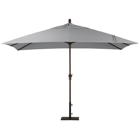 Ash Rectangular Market Umbrella, Onyx ,  , large
