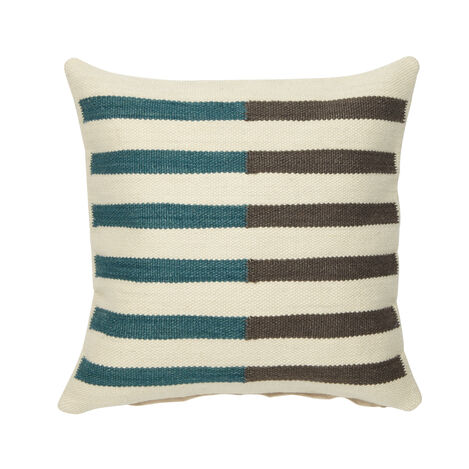 Split Stripe Wool Pillow ,  , large