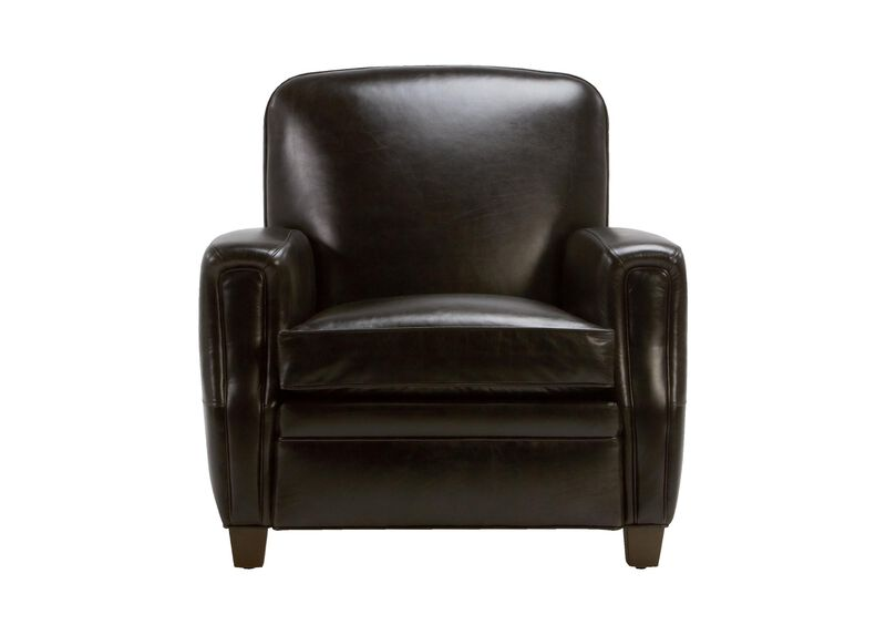 Dean Leather Chair, Anson Black ,  , large_gray