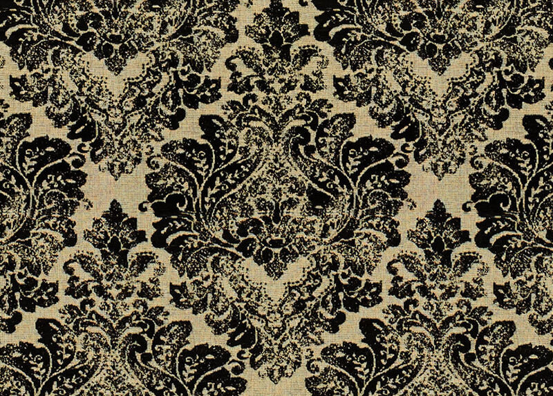 Gaia Black Fabric by the Yard ,  , large_gray
