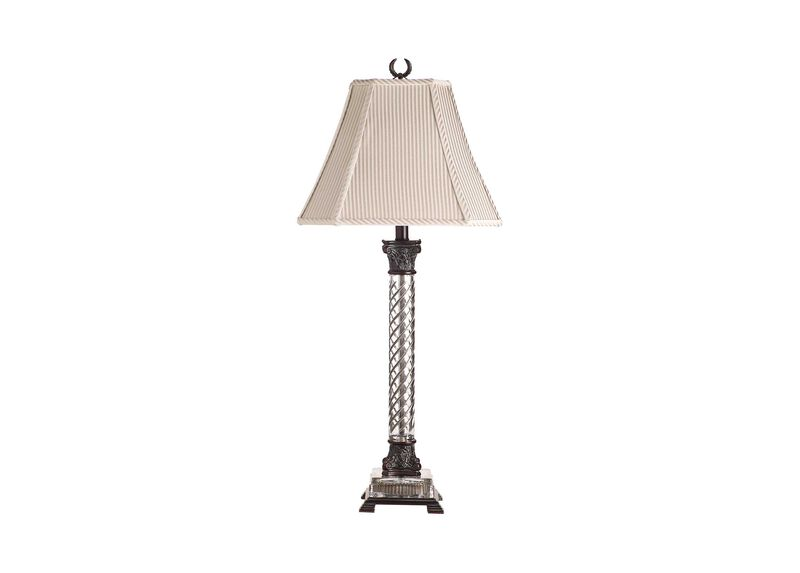 Beauford Bronze Table Lamp ,  , large_gray