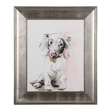 Glamour Dog Sketch VI, Silver ,  , large