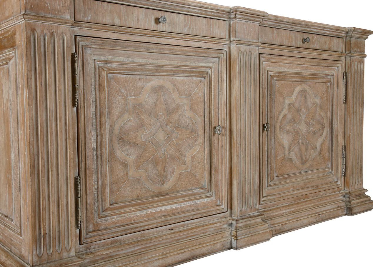 Lombardy sideboard dining room storage ethan allen for Sideboard alt