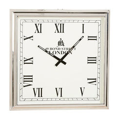 Nickel Square Wall Clock ,  , large