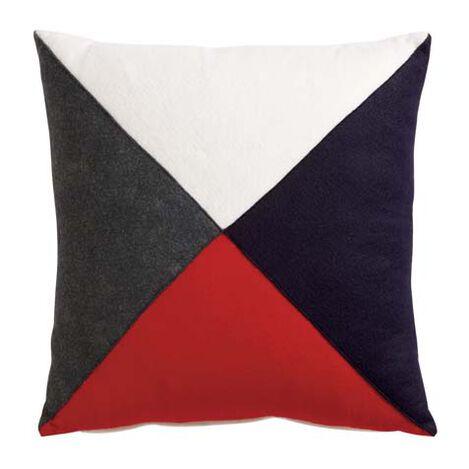 Multicolor Flag Pillow ,  , large