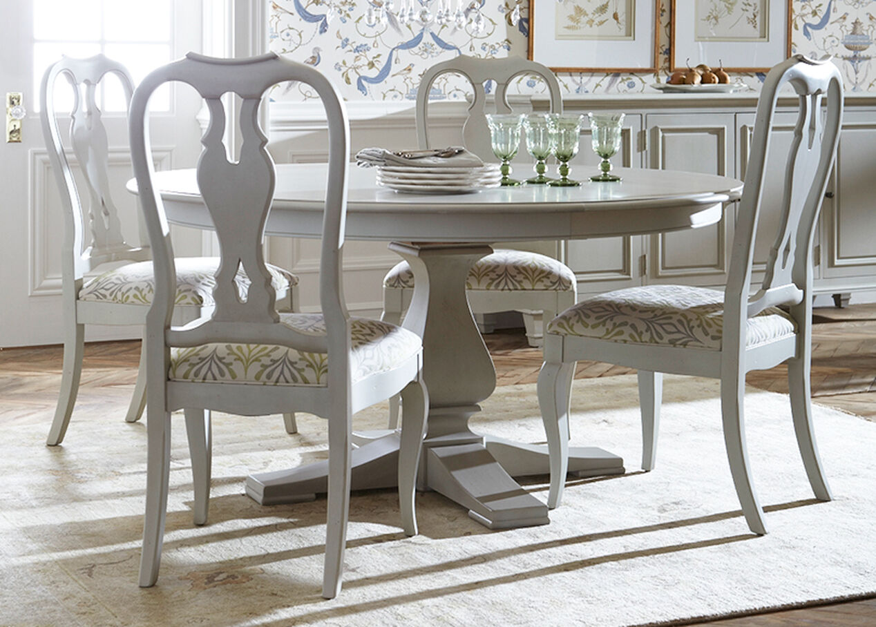 Round Country Kitchen Table Cameron Round Dining Table Dining Tables