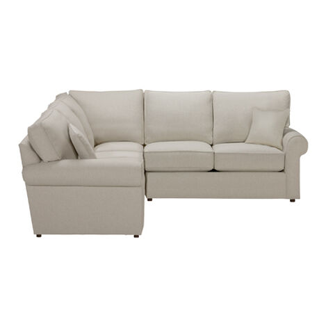 Retreat Roll-Arm Three Piece Sectional, Quick Ship ,  , large