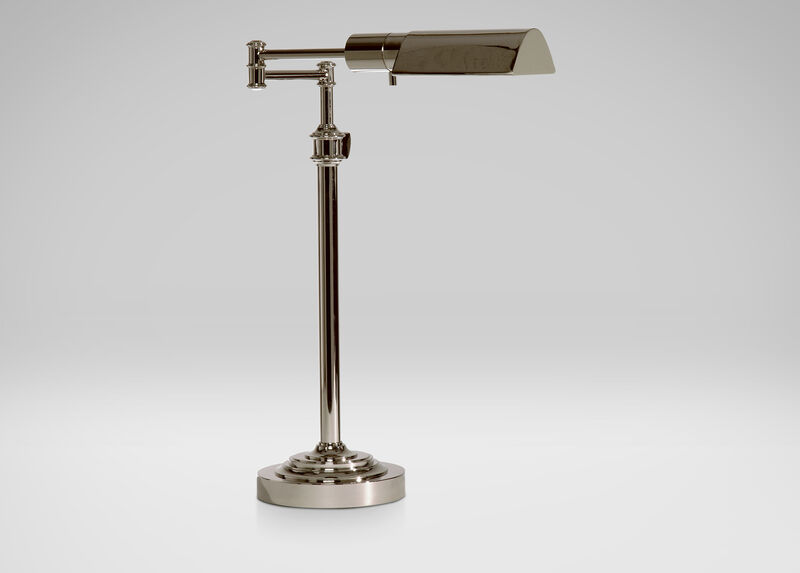 Nickel Pharmacy Desk Lamp ,  , large_gray
