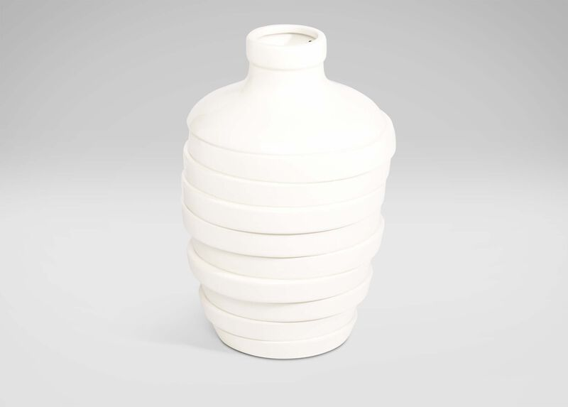 Large Contempo Vase ,  , large_gray