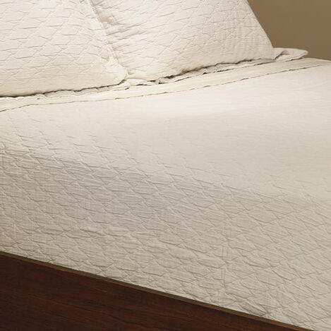 Malbay Queen Matelassé Coverlet, White ,  , large