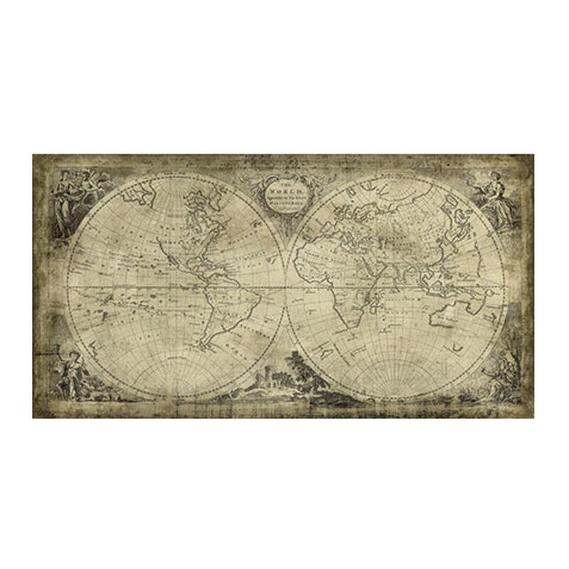 World Map II Vintage ,  , large