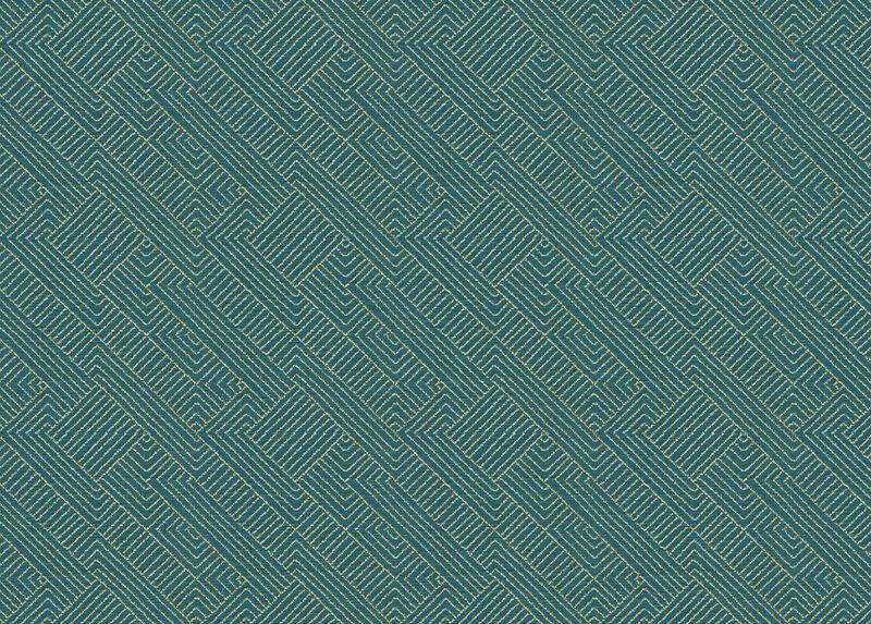Hadi Teal Fabric by the Yard ,  , large_gray