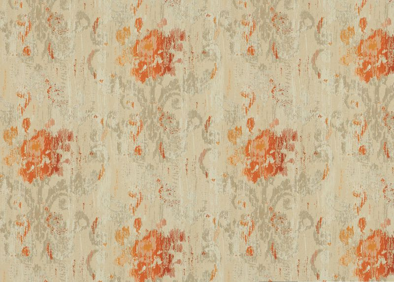 Aura Tangerine Fabric by the Yard ,  , large_gray