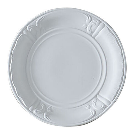 White Deco Wall Plate ,  , large