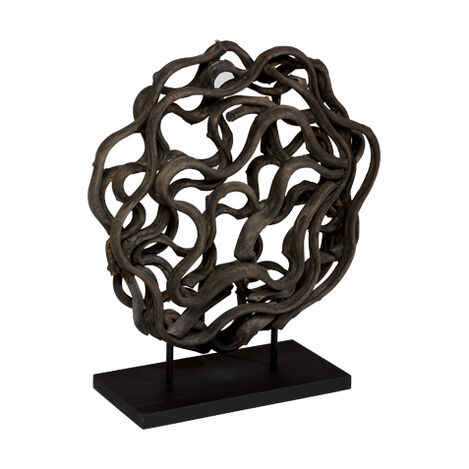 Charcoal Weston Sculpture ,  , large