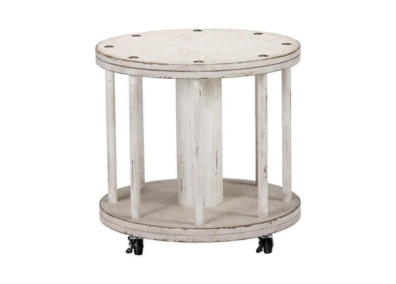 Film Canister Side Table ,  , large_gray