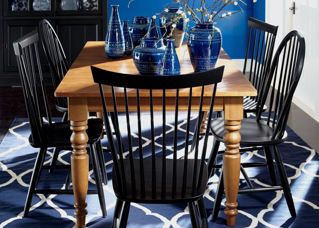 miller dining table ethan allen ethan allen farmhouse pine d